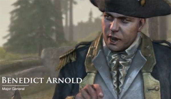 Nouvelle missions Assassin's Creed 3 : Benedict Arnold